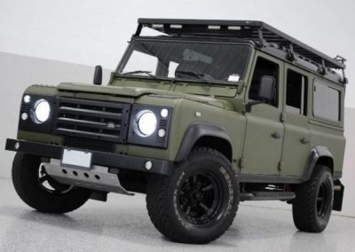 "1987 Defender 110 LHD Restoration – Project ""Forest Ghost"""