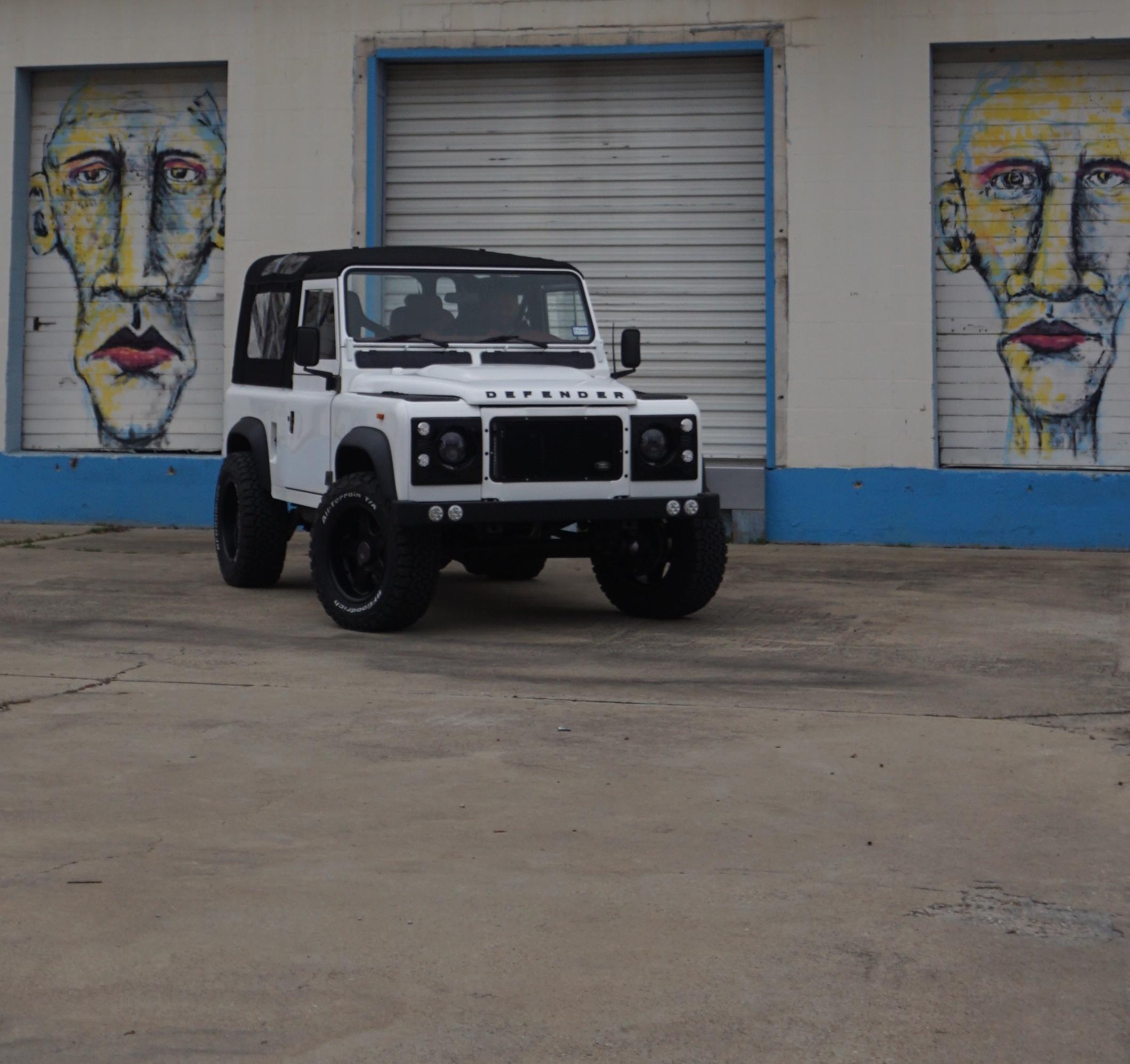 1985 Defender 90 Convertible Conversion -