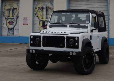 "1985 Defender 90 Convertible Conversion – ""Coconut"""
