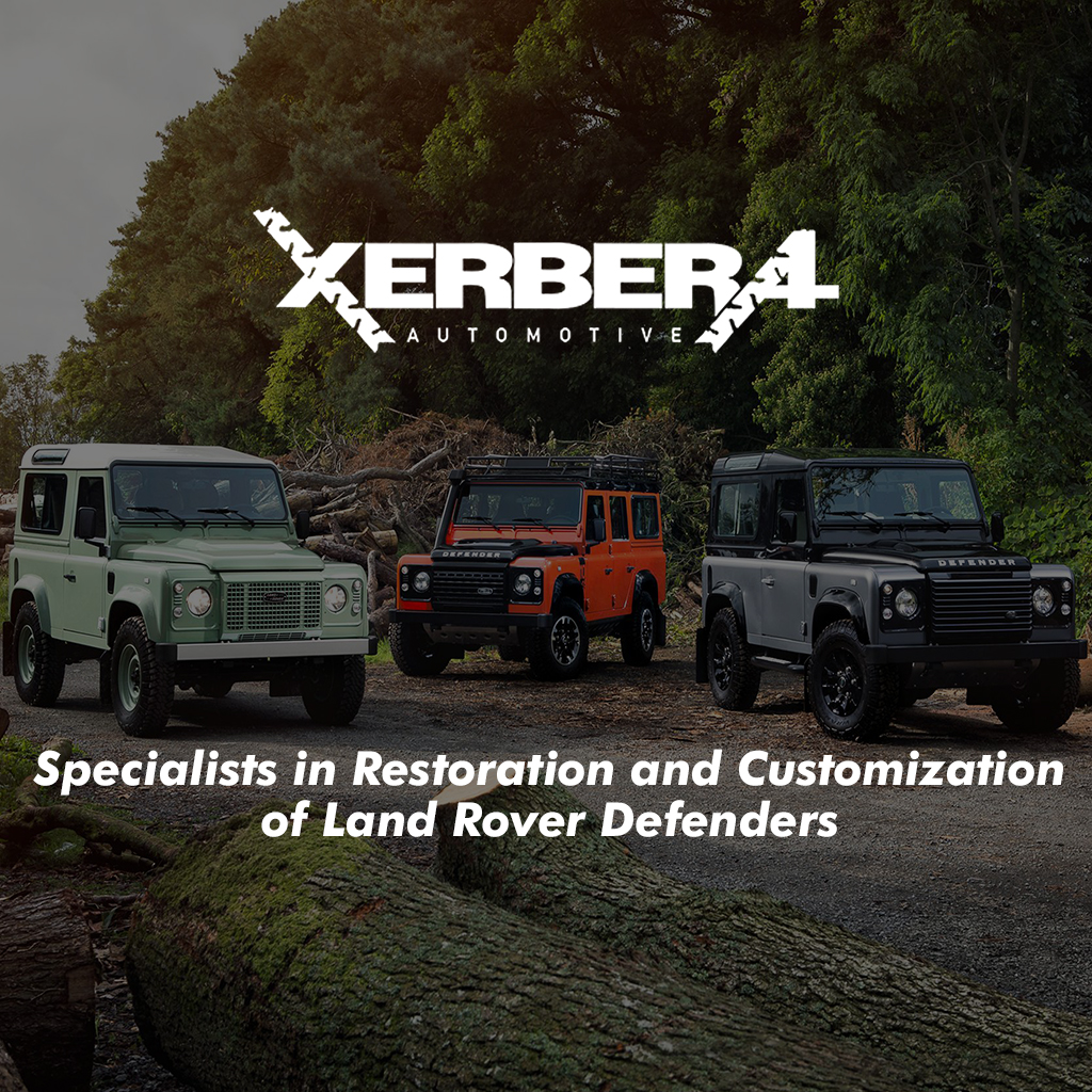 Performance Packages - Xerbera Custom Defenders