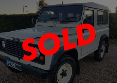 1990 Land Rover Defender 90 RHD 200TDi
