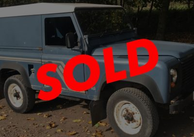 1992 Land Rover Defender 90 RHD 200TDi