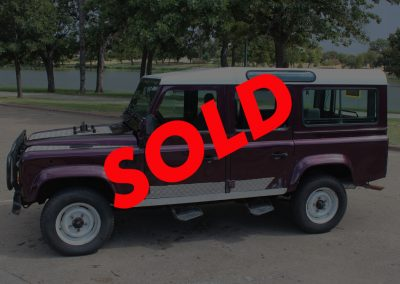 1994 Land Rover Defender 110 RHD 300TDi