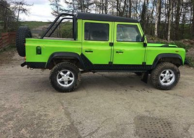 1993 Land Rover Defender 110 RHD Double Cab 200TDi