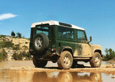 1997 Land Rover NAS Defender 90 4.0V8 Badge # 017