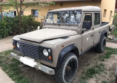 1992 Land Rover Defender 110 Double Cab LHD 200tdi