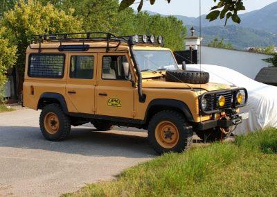 1992 Land Rover Defender 110 LHD 2.5L Petrol Camel Trophy Replica