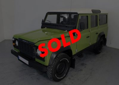 1991 Land Rover Defender 110 LHD with 2.5L Petrol
