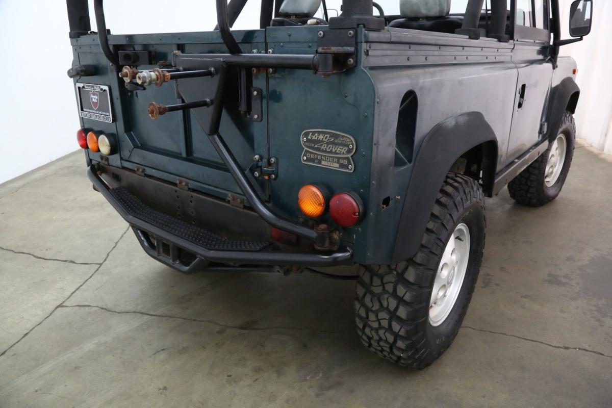 Terrafirma frein flexibles pour s/'adapter LAND ROVER DEFENDER 90 S de 1983 To 2006